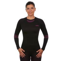 Women's Ski Base layer Top i-Soft - Black