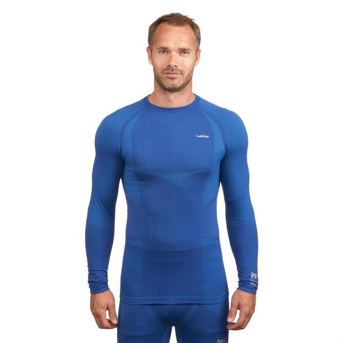 Sous-vêtement haut de ski homme 900 Bleu