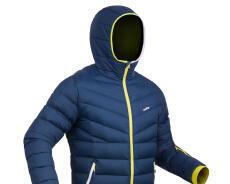迪卡儂男防水保暖滑雪羽絨外套