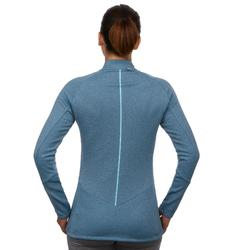 Camiseta de esquí mujer MD 500 azul