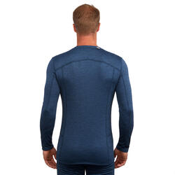 Camiseta térmica de Esquí Hombre 500 Azul