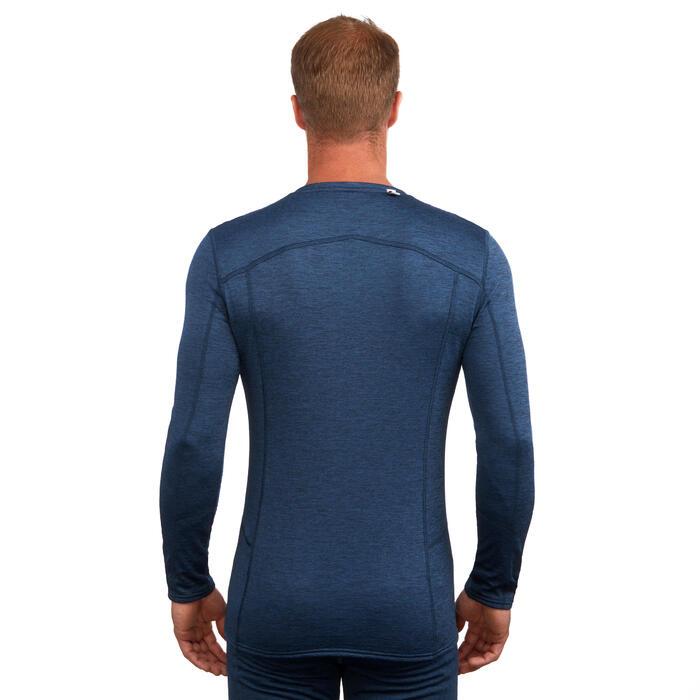 Sous-vêtement haut de ski homme 500 Bleu