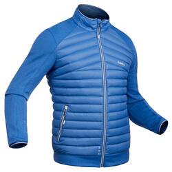 Chaqueta térmica plumón de esquí hombre 900 azul