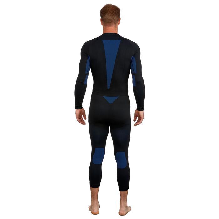 Thermobroek voor skiën heren 580 i-Soft zwart/blauw