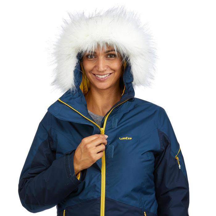 Skijacke Piste 150 Damen blau