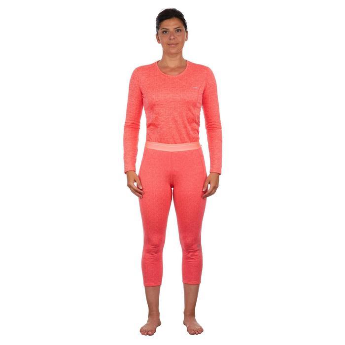 Sous-vêtement de Ski Femme Bas 500 Corail
