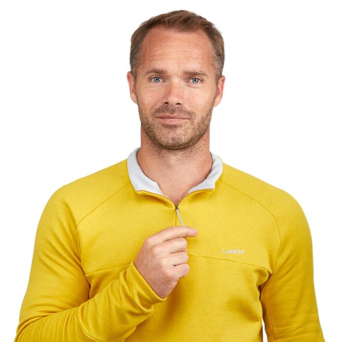 Camiseta de esquí hombre MD 500 miel