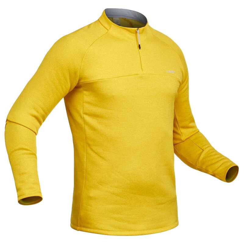 INTIMO E STRATO 2 UOMO Sci, Sport Invernali - Sottogiacca uomo 500 gialla WEDZE - Abbigliamento sci uomo