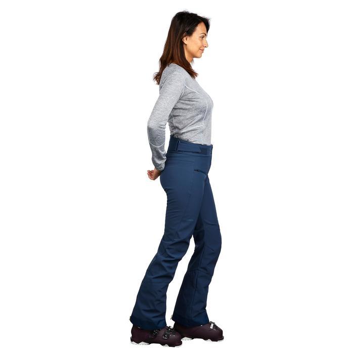 Skihose Piste 580 Slim Damen blau