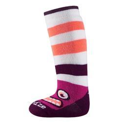 Socken warm Schlitten Baby rosa