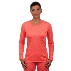 Skiunterhemd 500 Damen koralle