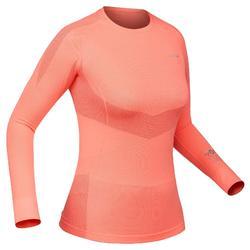 Skiunterwäsche Funktionsshirt 900 Damen rosa