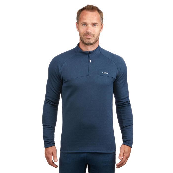 Sous-vêtement haut de ski homme MD 500 Bleu