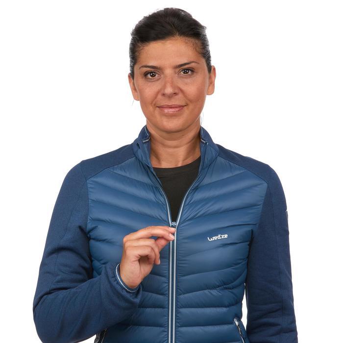 Dons midlayer voor skiën dames 900 blauw