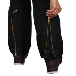 Women's Trail Skiing Pants Ski-P PA 580 Slim - Black