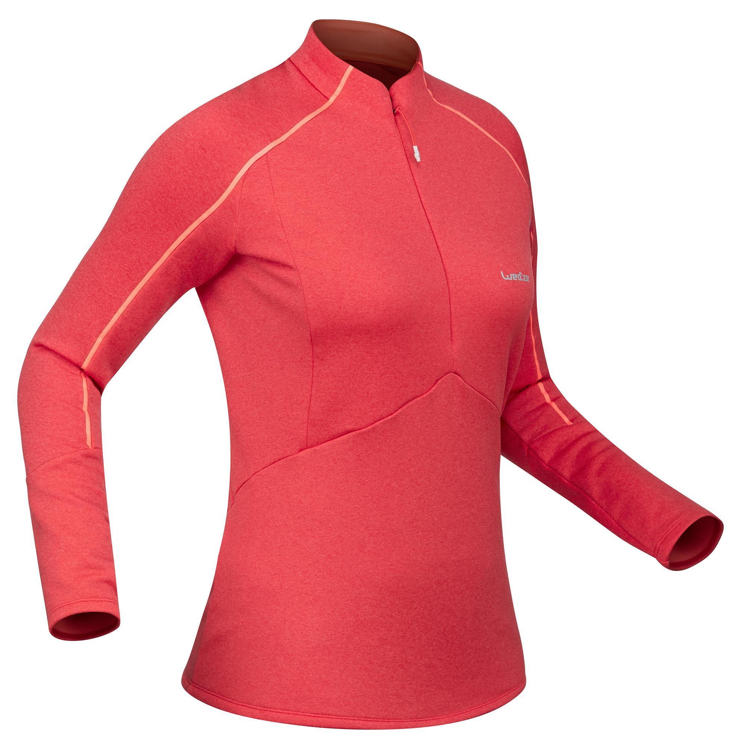 Skiunterhemd 500 Damen rosa | Sportbekleidung > Funktionswäsche > Thermounterwäsche | Rosa | Wed'ze