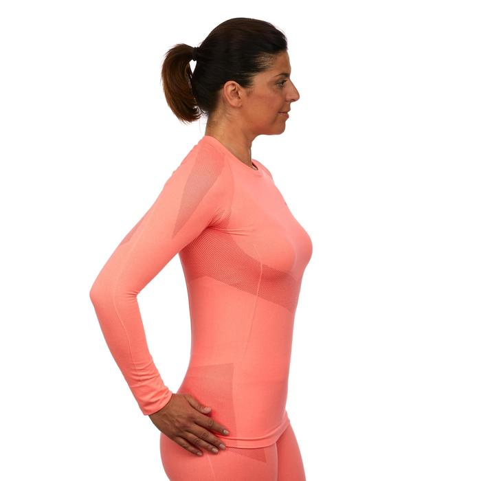 Sous-vêtement haut de ski femme 900 rose