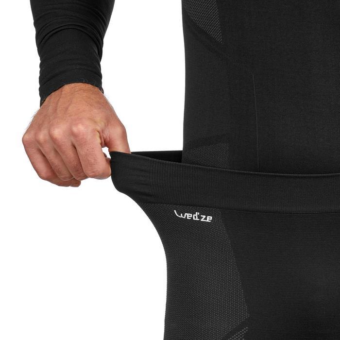 Lange skionderbroek voor heren 900 zwart grijs