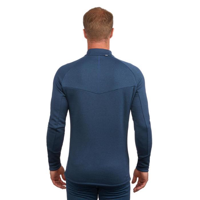 Ski Funktionsshirt 500 Herren blau