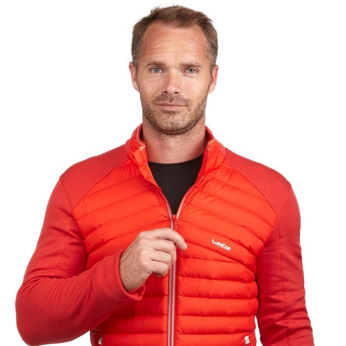 Dons midlayer voor skiën heren 900 rood