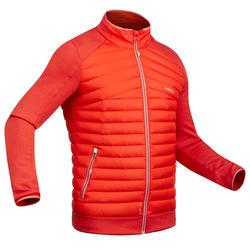 Chaqueta térmica de plumón de esquí hombre 900 Rojo