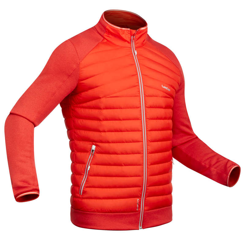 MEN SKI BASELAYER & PULL Skiing - M Skiing 2nd layer 900 - Red WEDZE - Ski Wear