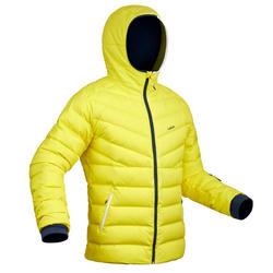 Skijacke Piste 500 Warm Herren gelb