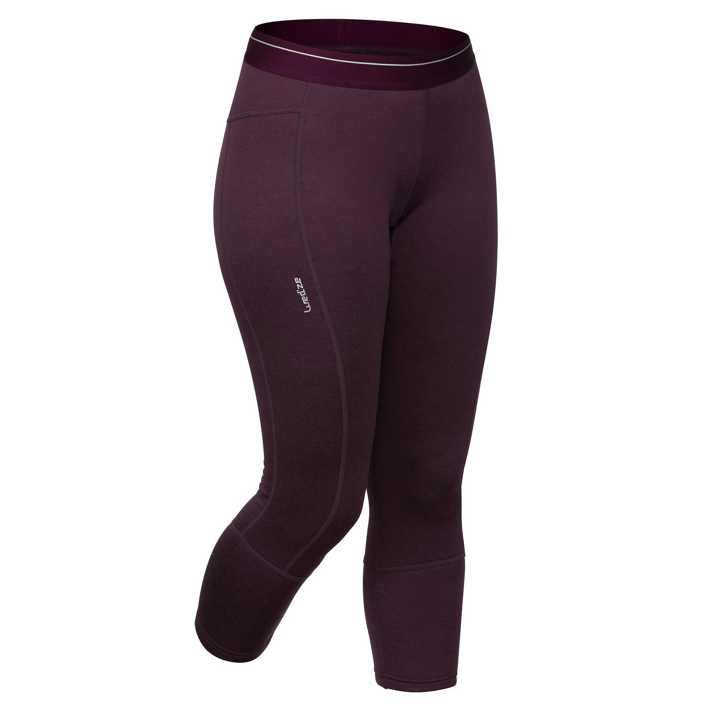 Skiunterhose Funktionshose 500 Damen | Sportbekleidung > Funktionswäsche > Thermounterwäsche | Wedze