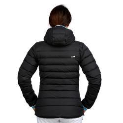 Dons ski-jas voor dames JKT 500 Warm grijs
