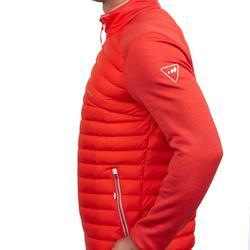 Herenmidlayer voor skiën 900 rood