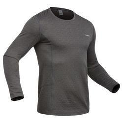 Thermoshirt ski grijs voor heren MD 500