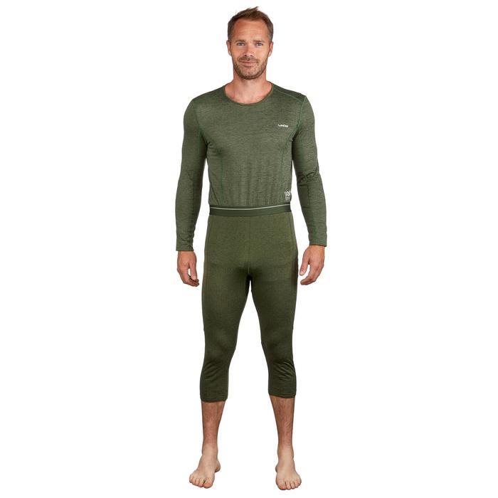 Sous-vêtement bas de ski homme 500 Vert
