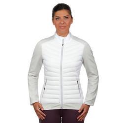 Dons midlayer voor skiën dames 900 wit