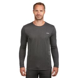 Thermoshirt heren ski grijs MD 500