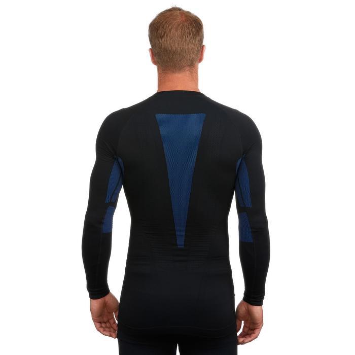 Camiseta interior esquí hombre 900 Negro Azul