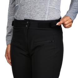 WOMEN'S DOWNHILL SKI TROUSERS 500 - BLACK