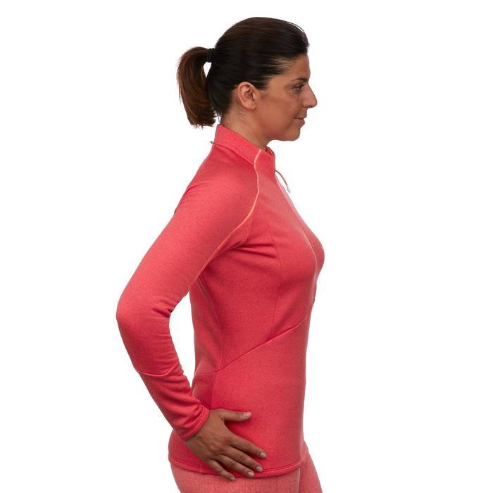 Sous-vêtement haut de ski femme MD 500 rose