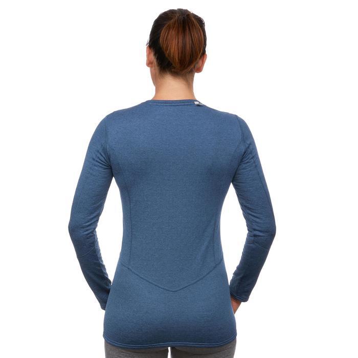 Skiunterhemd Funktionsshirt 500 Damen blau