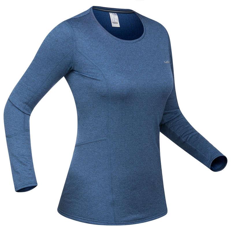 INTIMO E STRATO 2 DONNA Sci, Sport Invernali - Maglia termica donna 500  WEDZE - Abbigliamento sci donna