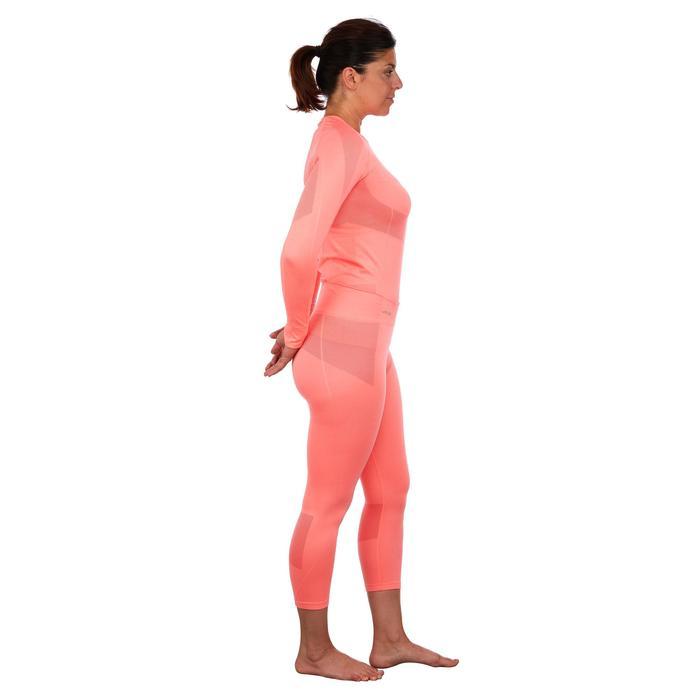 Pantalón de esquí mujer 900 rosa
