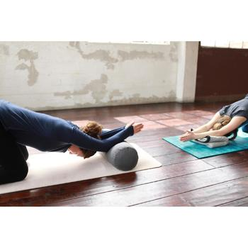 Yoga-Bolster grau