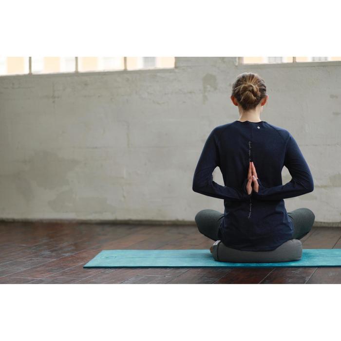 Zafu coussin yoga / méditation gris , coton issu de l'agriculture biologique. - 1509222
