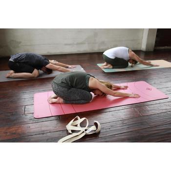 Débardeur sans coutures Yoga femme kaki