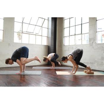 Tapis / Sur-tapis yoga pliable épaisseur 1,5 mm caoutchouc imprimé nuages