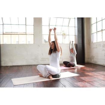 T shirt yoga doux femme en coton issu de l'agriculture biologique - 1509311