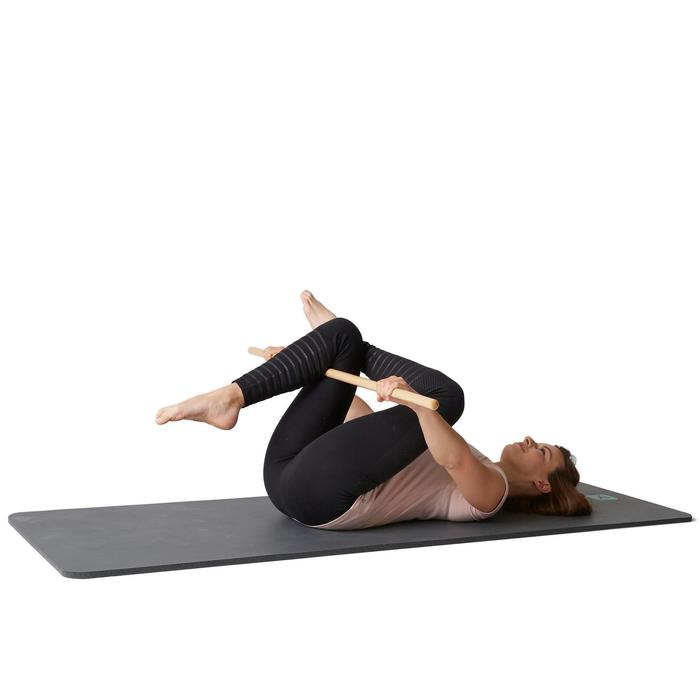 Gymnastikstab Holz Gleichgewicht Pilates Stretching