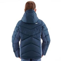 Ski-jas voor meisjes SKI-P JKT 500 warm blauw