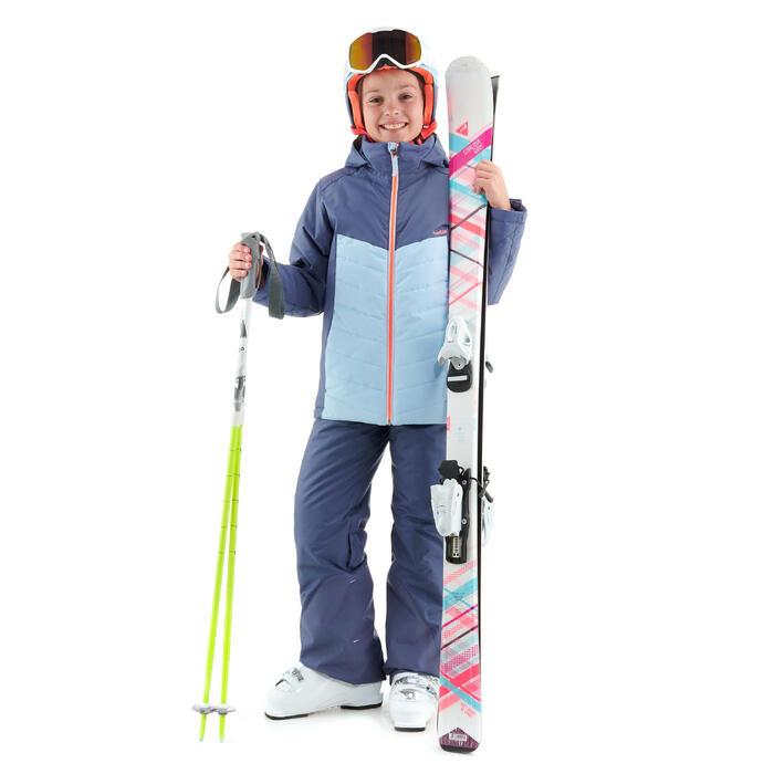 Skijacke 300 Kinder blau