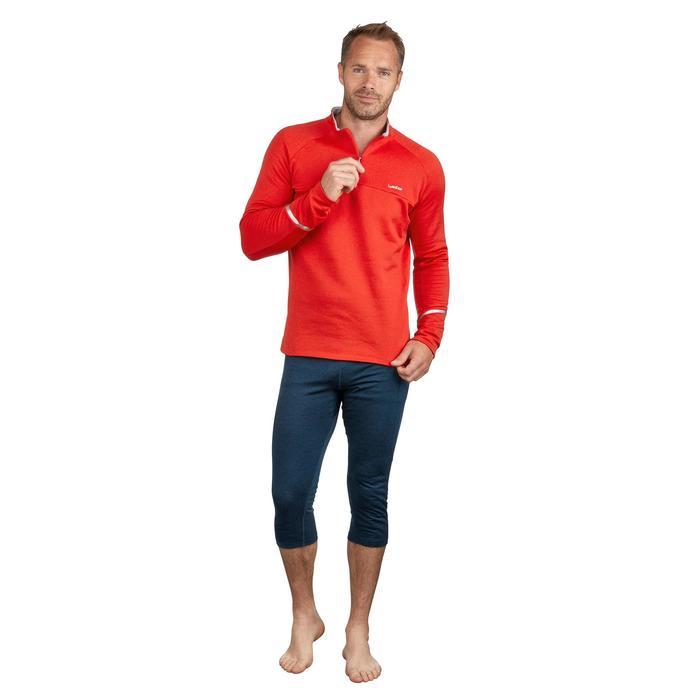 Ski Funktionsshirt 500 Herren rot