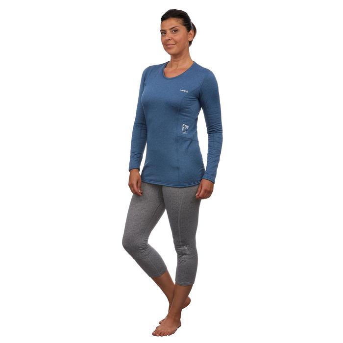 Skiunterwäsche Funktionsshirt 500 Damen blau